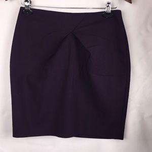 H&M plum pencil skirt